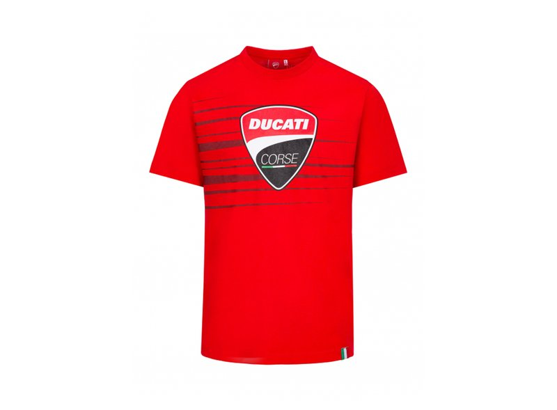 T-shirt Ducati Corse Stripes - Red