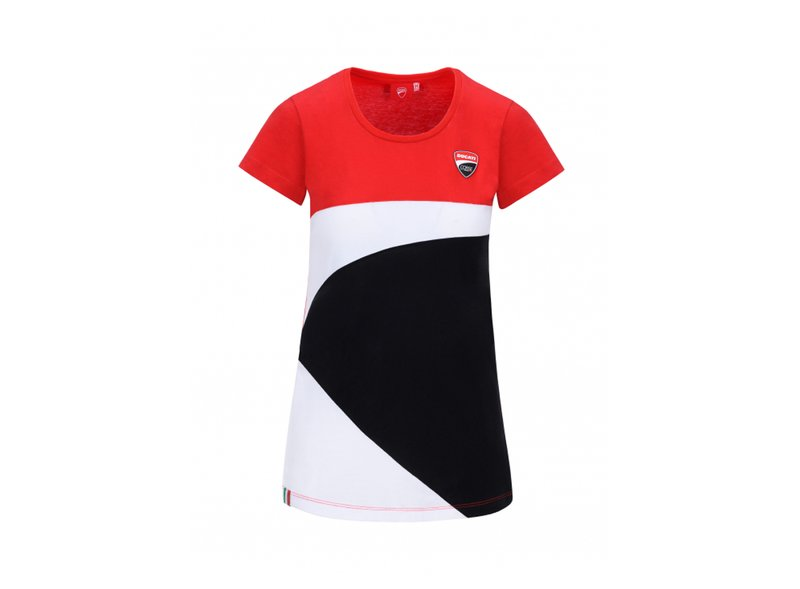 T-shirt Mujer Ducati Corse - Red