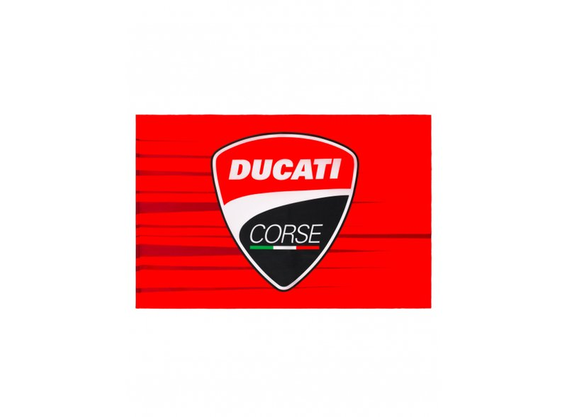 Bandiera Ducati Corse - Multicolor