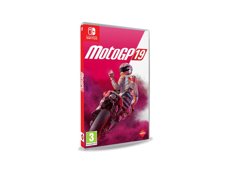 Nintendo Switch MotoGP 2019 - White