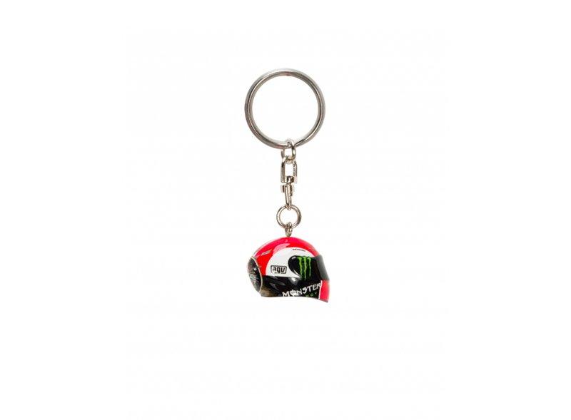 Simoncelli Replica Helmet Keychain - Multicolor