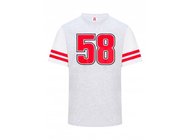 Sic 58 T-Shirt grey - White