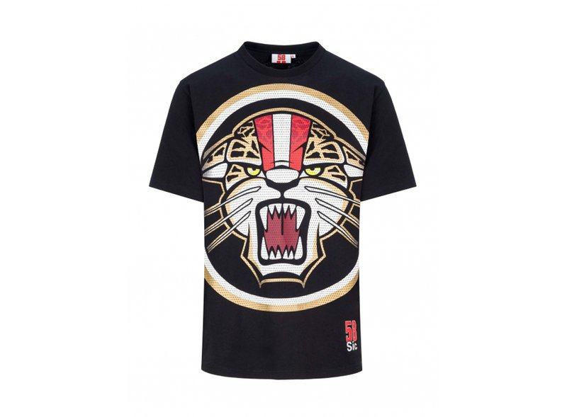 T-shirt Simoncelli Jaguar - Black