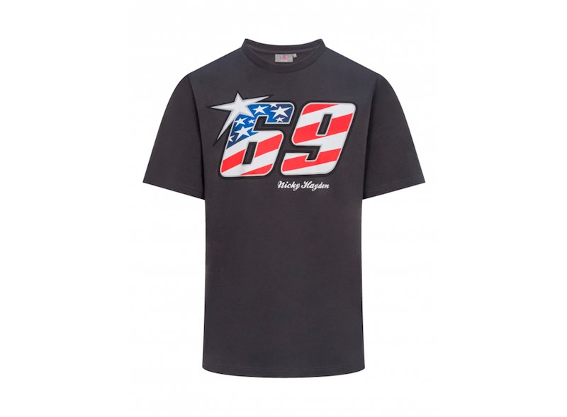 Camiseta Nicky Hayden 69 - White