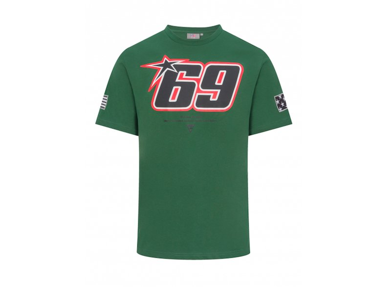 69 Nicky Hayden green t-shirt - White