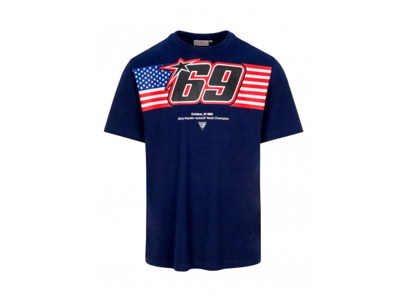 Hayden 69 Flag T-shirt - Blue