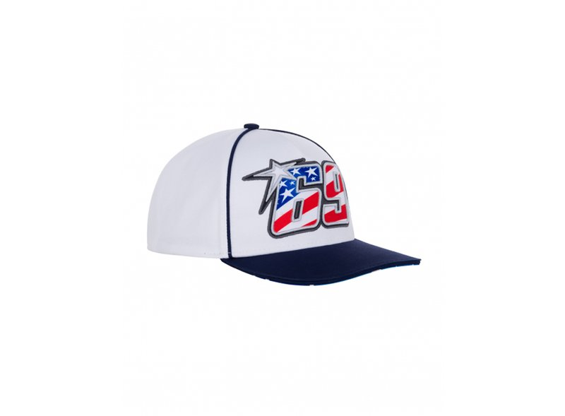 Gorra Nicky Hayden 69 - White