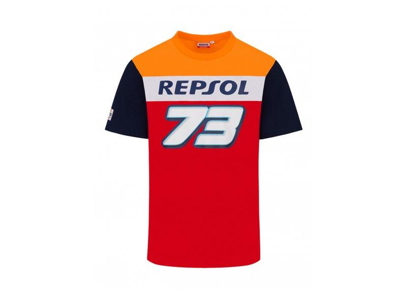 Camiseta Alex Marquez Repsol Honda Dual - Red