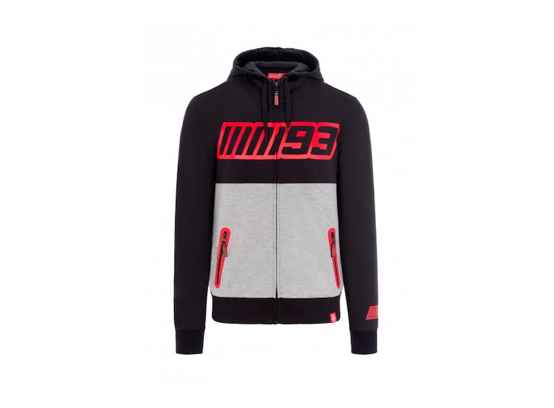 MM93 Bicolor Hoodie - White