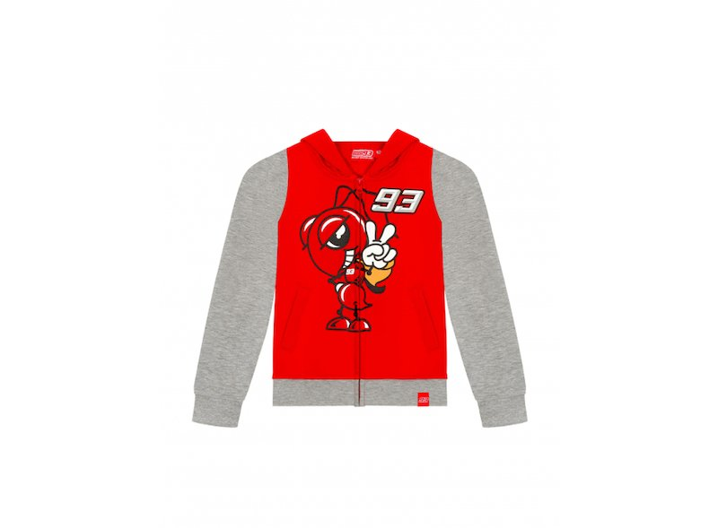 Sweatshirt KID Marquez Ant - White