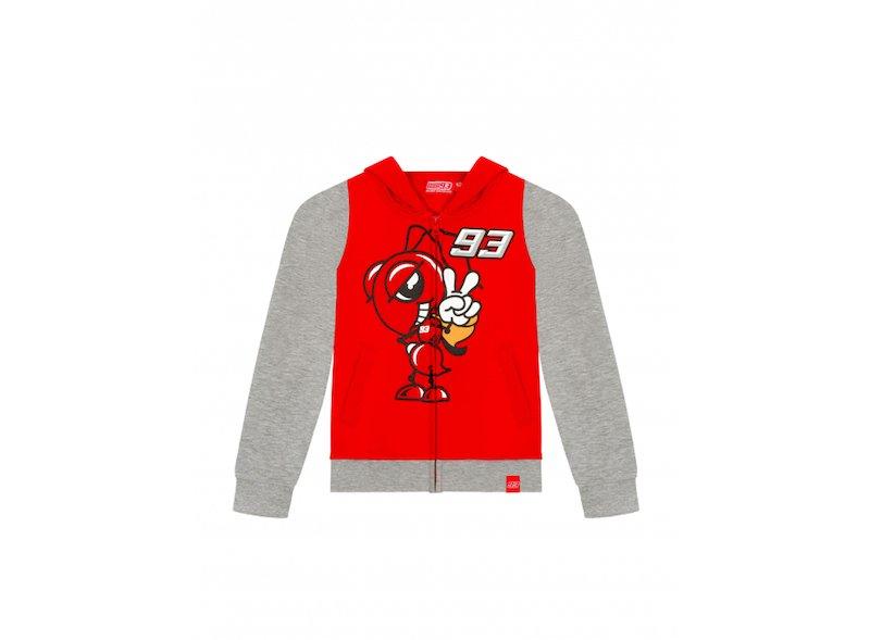 Sweat-shirt et fourmi enfant Marquez - White