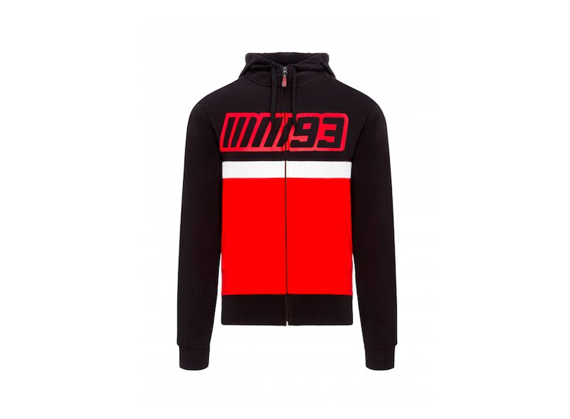 Hoodie MM93 Team Bicolor - White