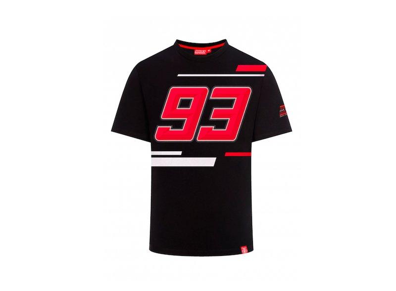 Maglietta Marquez 93 nero - White