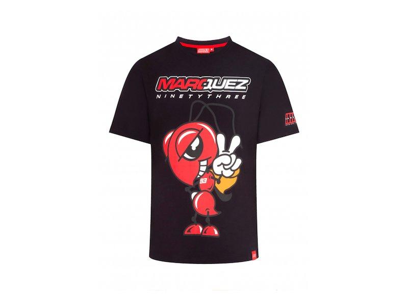Marquez black T-shirt Ant
