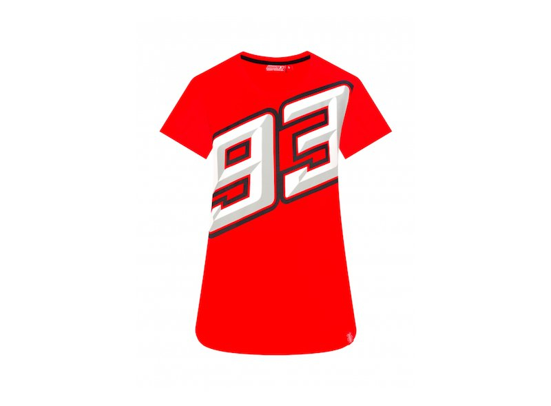 Maglietta Marquez 93 Donna - White
