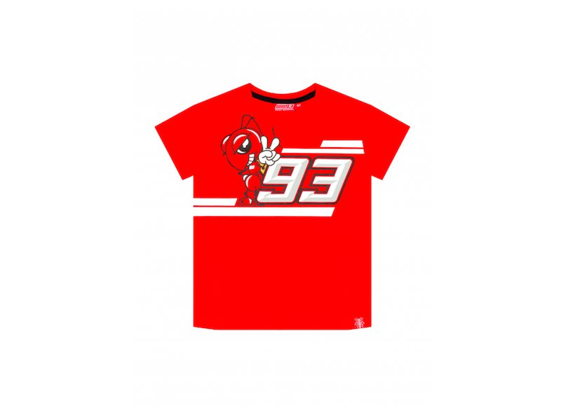 Marquez 93 Ant Kid T-shirt - White