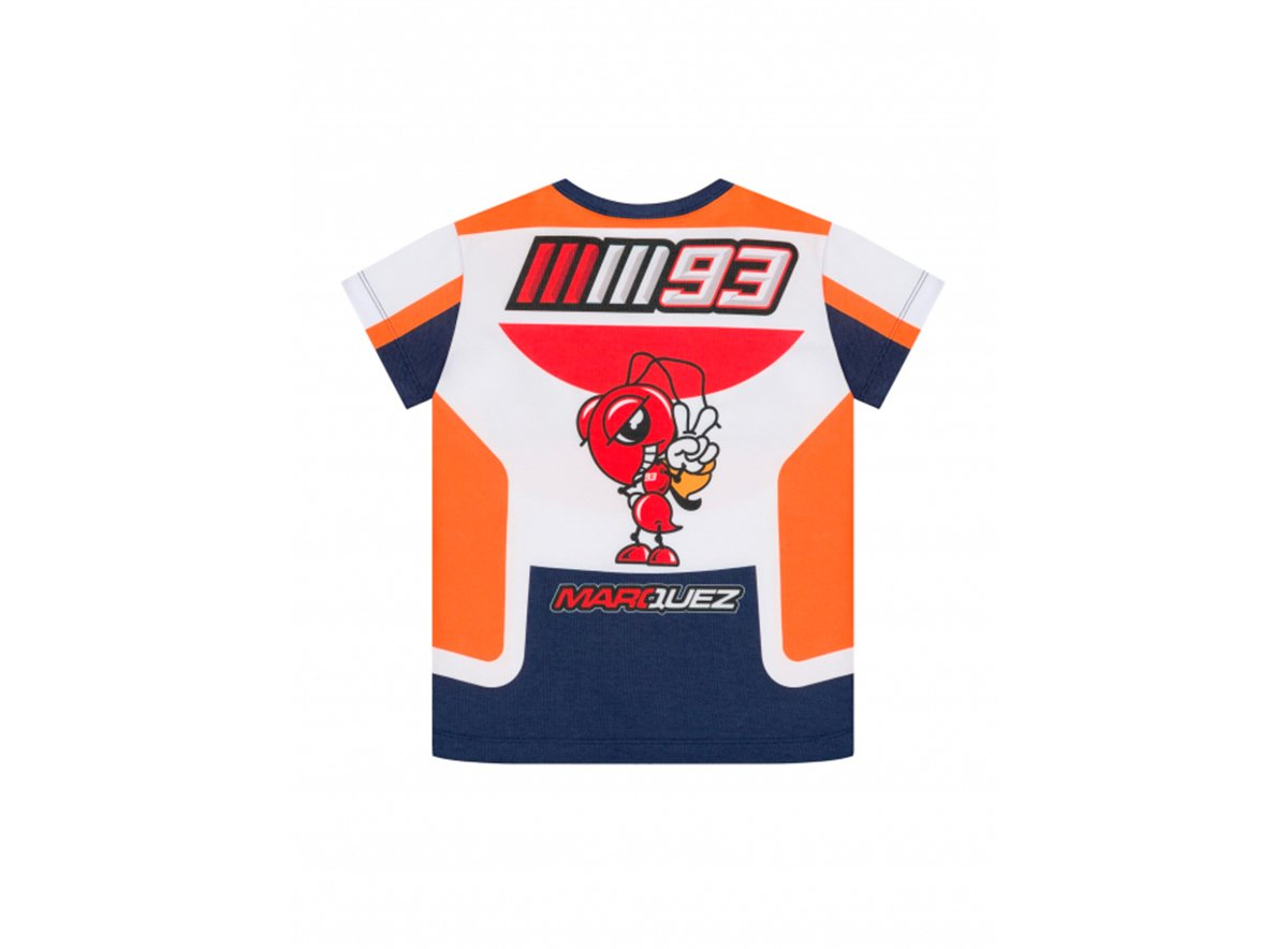 kid/'s T-shirt Marc Marquez Repsol Colors official Moto GP collection located in