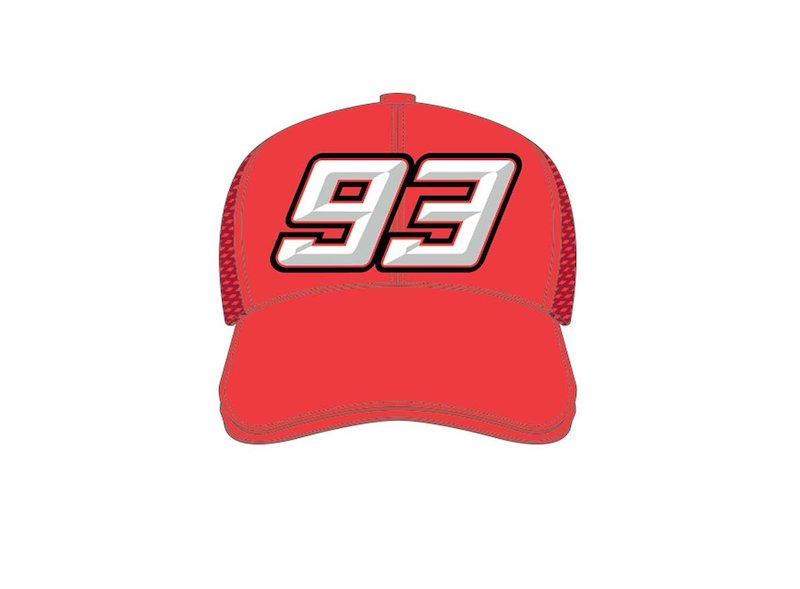Gorra Niño MM93 roja - White