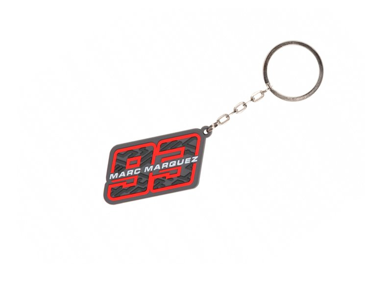 Key ring Marc Marquez 93 pvc