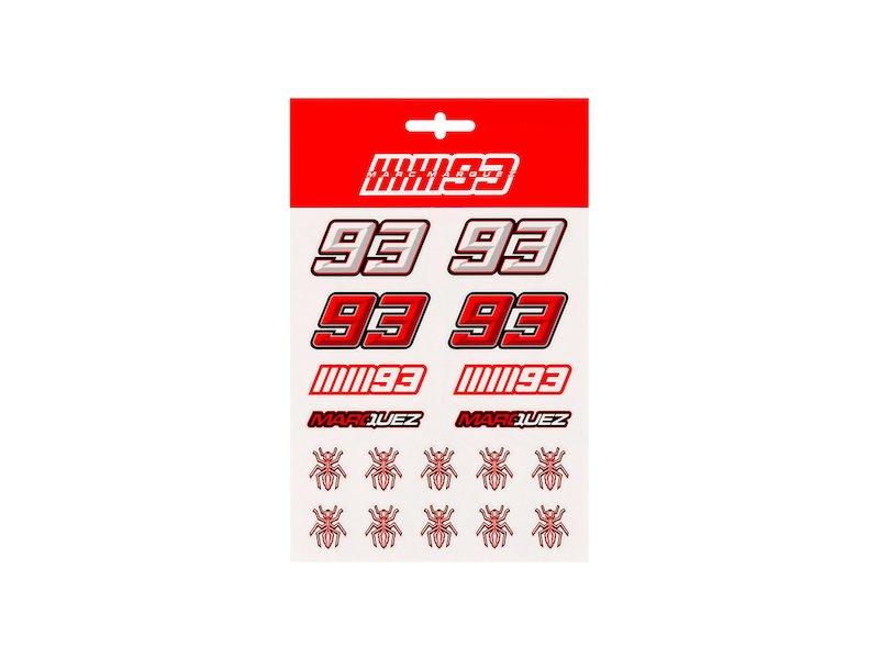 Marc Marquez 93 Stickers Medium