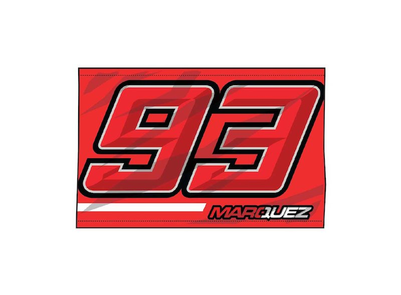 Flag 93 Marc Marquez