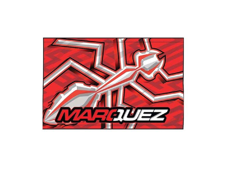 Drapeau Fourmi Marquez - White