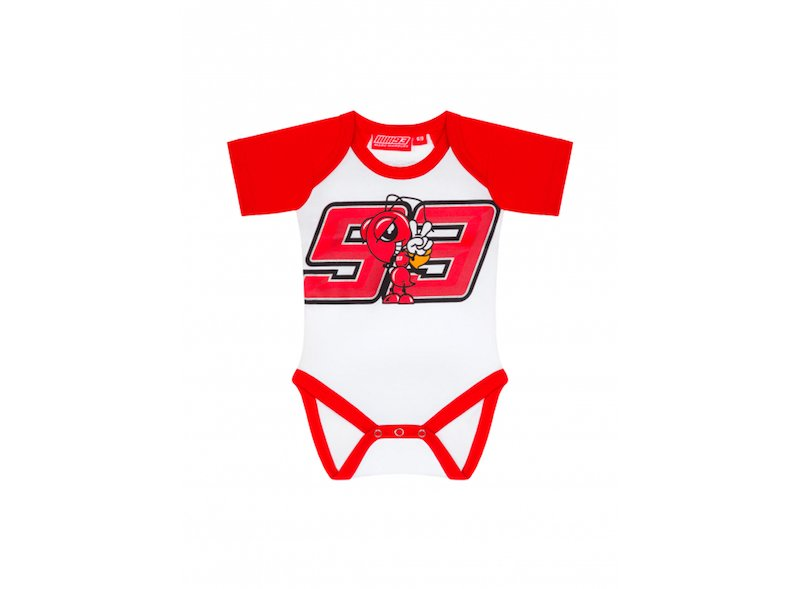 Marc Marquez MM93 Baby Body - White