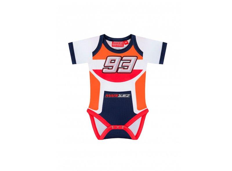 Body bébé Marquez 93 Repsol couleurs