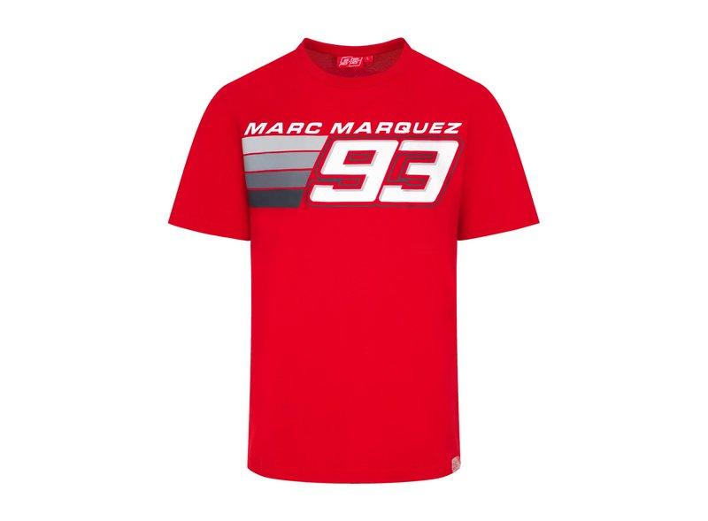 Camiseta Marc Marquez Stripes 93