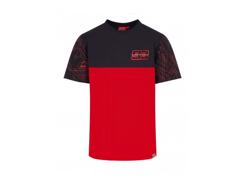 Tee-shirt Marc Marquez Stripes - Red