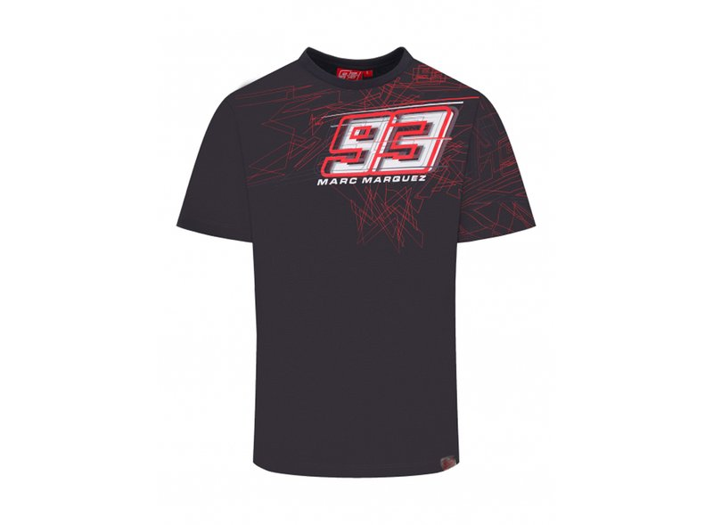 Marc Marquez 93 graphic T-shirt - Grey