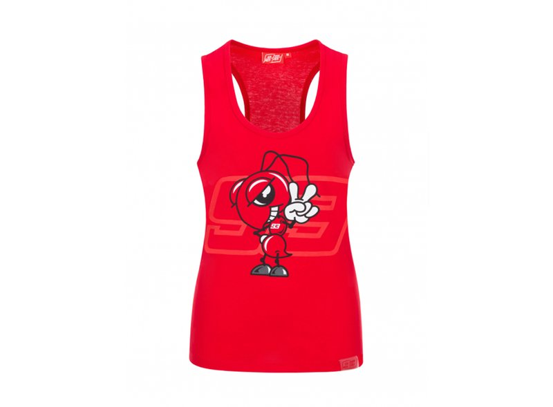 MM93 Woman Tank top - Red