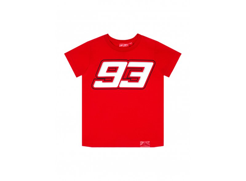 Camiseta Niño Marquez 93 - Red