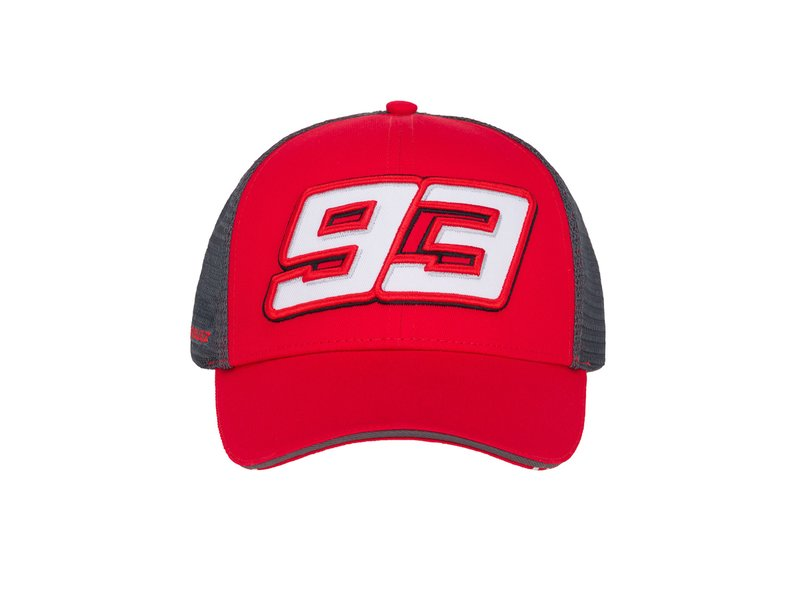 Marc Marquez 93 Logo Trucker Cap