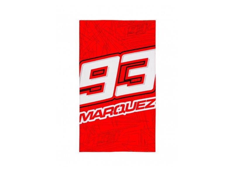 Toalla de playa Marquez 93 - Red