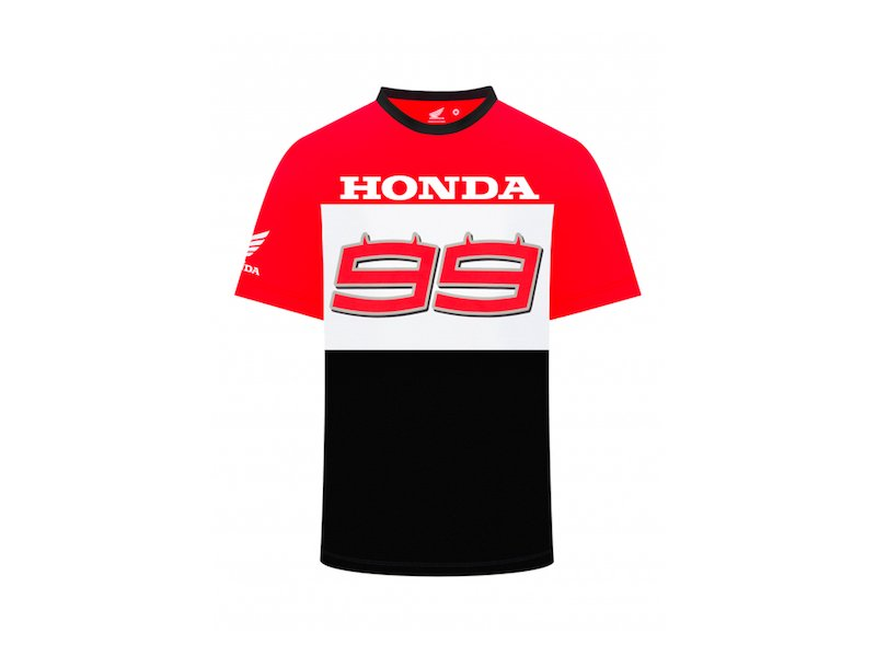 CAMISETA DUAL HONDA BIG 99 - White