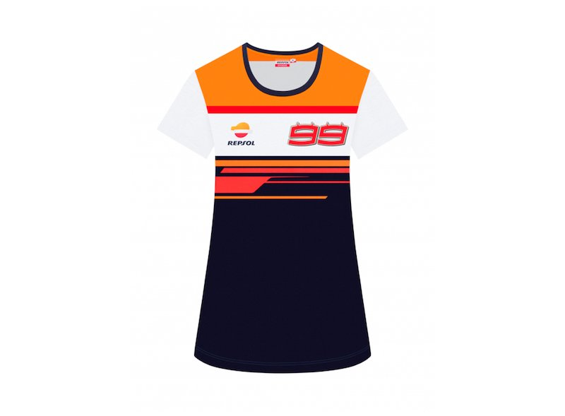 WomanDUAL REPSOL BACK 99 TSHIRT - White