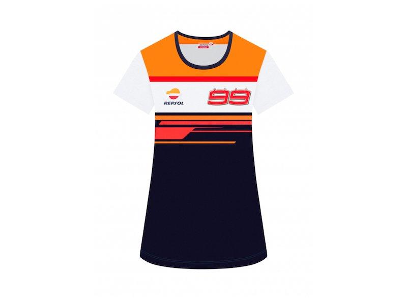 T-shirt pour femme Dual Repsol 99