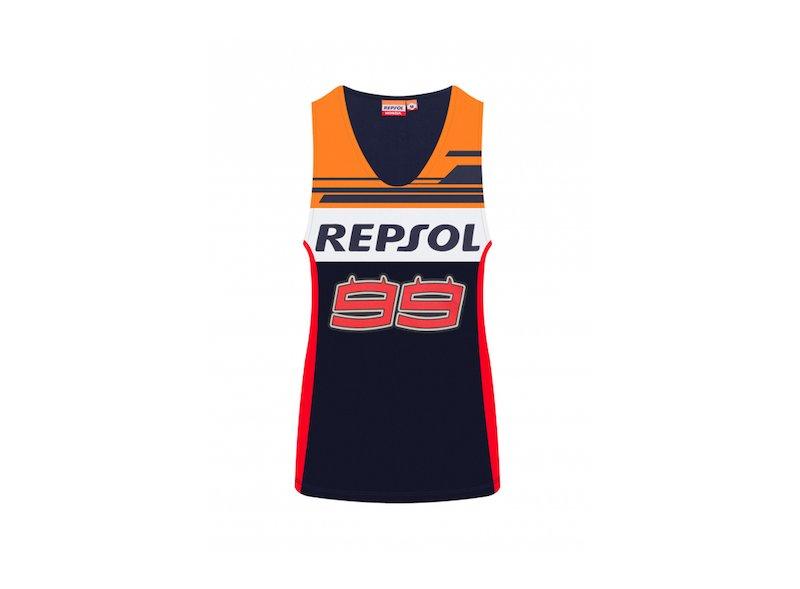 Camiseta tirantes mujer Dual Repsol 99