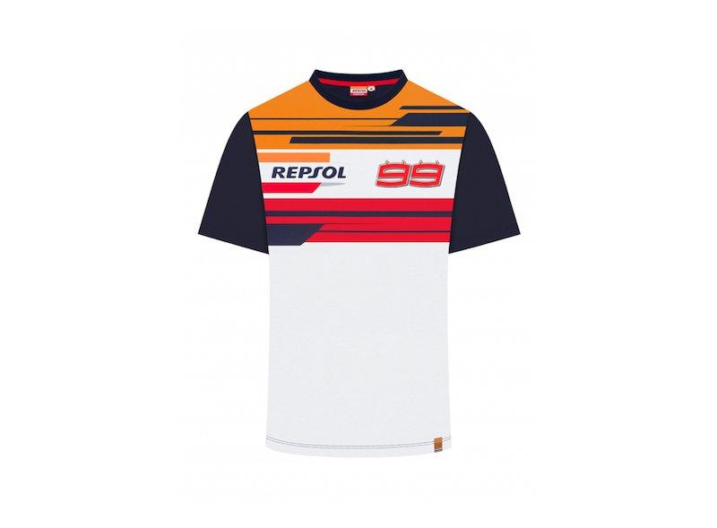 Maglietta Repsol Jorge Lorenzo Dual T-shirt - White