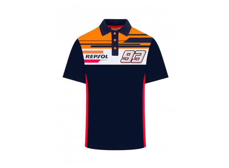 Polo Shirt Marc Marquez - Repsol Honda - Blue