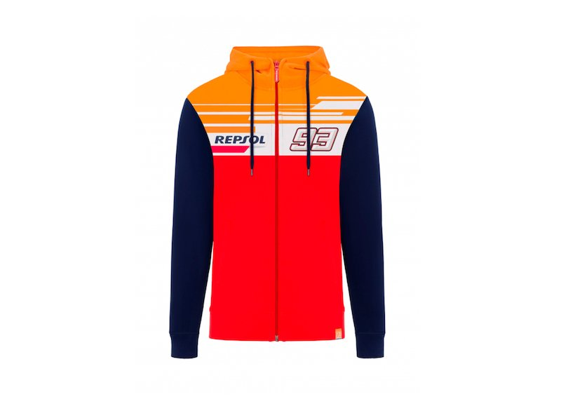 Sweat Dual Repsol 93 Multicolor - White