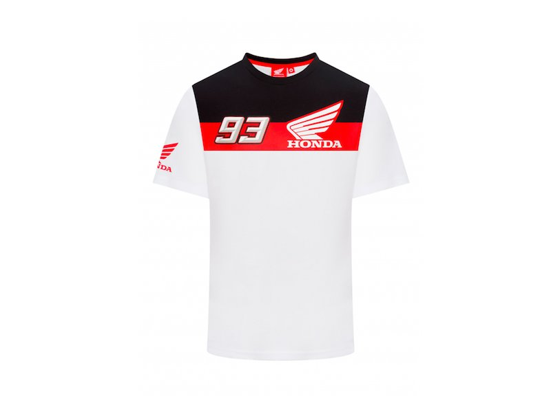 T-Shirt Official 93 Honda - White