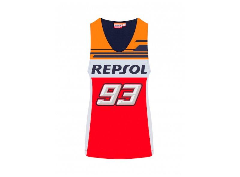 Camiseta tirantes mujer Dual Repsol 93