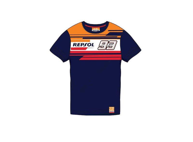 T-shirt pour enfants Dual Repsol 93 - White