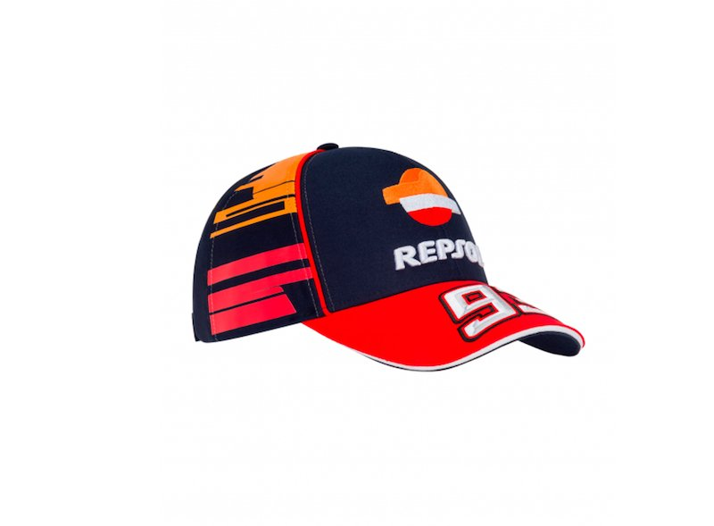 Baseball Dual Repsol MM93 CAP - White