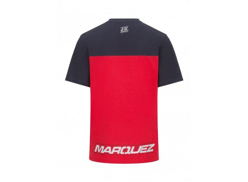 T-shirt Marc Marquez 93 Honda Dual - Black