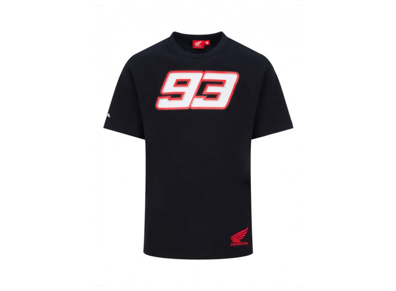 Camiseta Marquez Honda Dual - Black