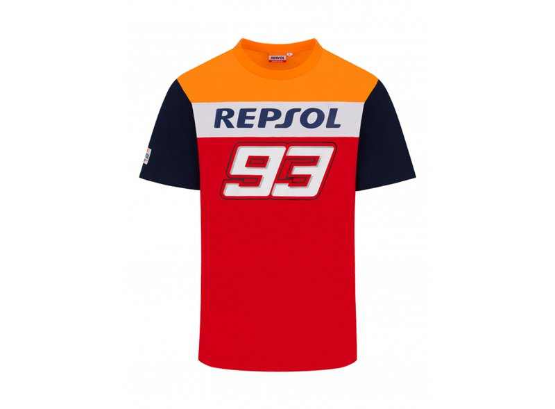 Marc Marquez 93 Repsol Dual T-shirt - Red