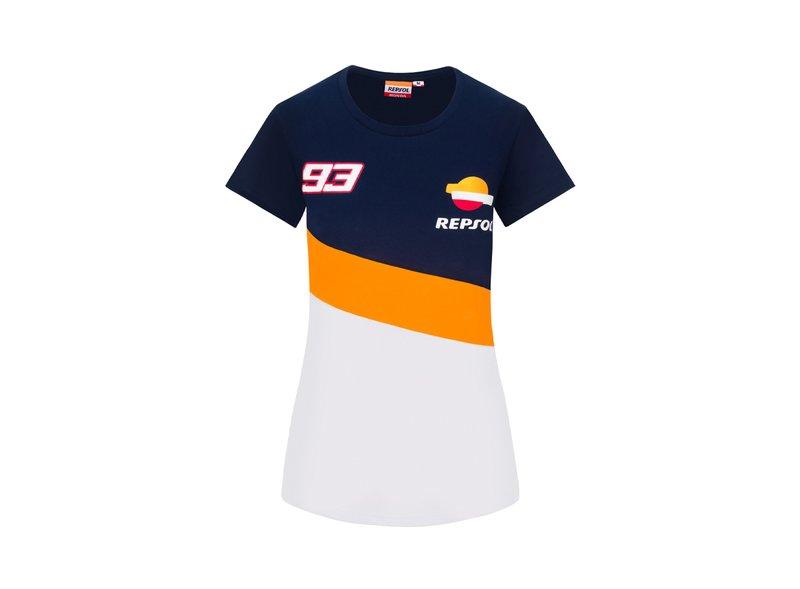 Camiseta Repsol Honda Dual Marc Marquez Mujer